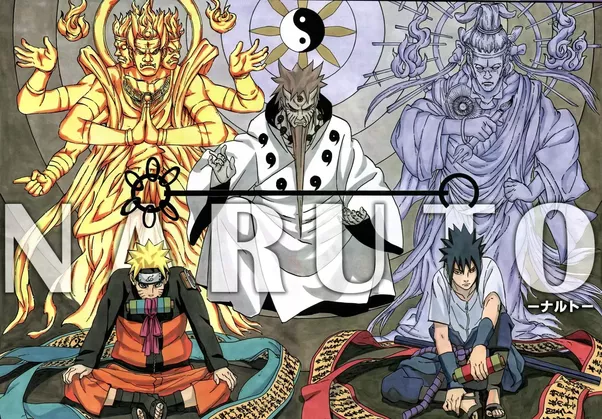 Japanese Creation Myth and Naruto: The Series   TAPAS Project